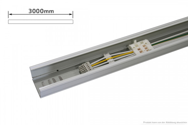 Endtragschiene - 5polig - schaltbar - 3000mm