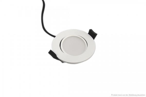 LED Downlight - 6 Watt - schaltbar - 4000 Kelvin - 550 Lumen - weiß