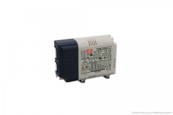 DALI Vorschaltgerät f. Downlights - 25W mit 350/ 500/ 600/ 700/ 900/ 1050mA