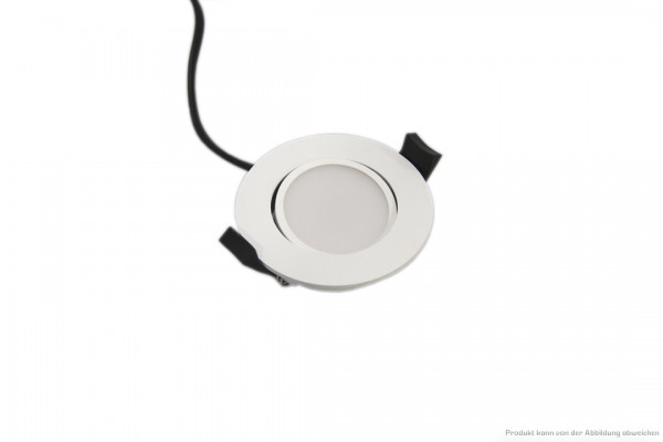 LED Downlight - 6 Watt - dimmbar - 4000 Kelvin - 550 Lumen - weiß