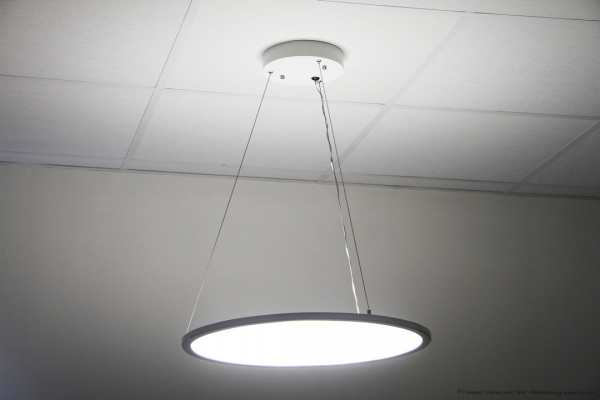 LED Pendelleuchte rund - 40 Watt - 3000 Kelvin - U:1650lm D:1650lm - weiß