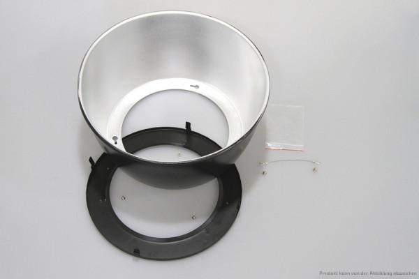 Reflektorschirm Aluminium 60° zur Komplettierung der HHL Optik