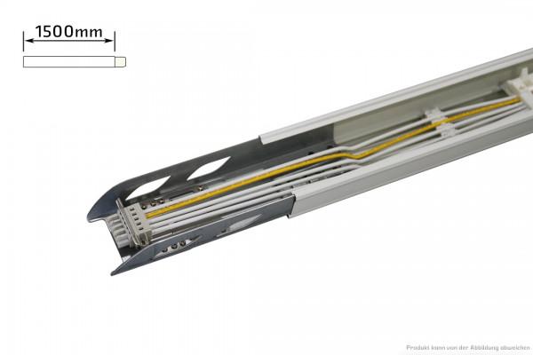 Durchgangstragschiene - 5polig - schaltbar - 1500mm