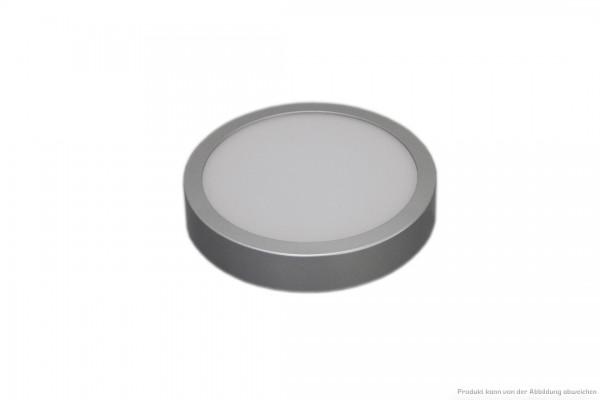 LED Anbauleuchte - 12 Watt - schaltbar - 3000 Kelvin - 980 Lumen - silber