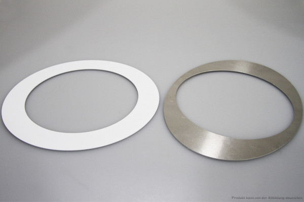 Sanierungs-Set bei Bestandslöcher von 257 - 295mm - weiß