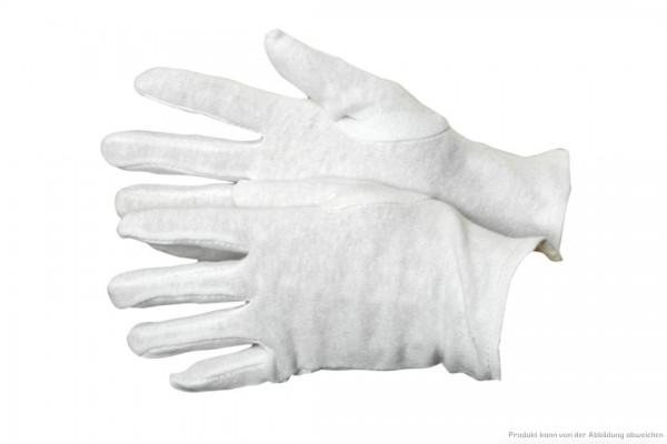Trikothandschuhe - Größe 10 - 100% Baumwolle - VE 12 Paar