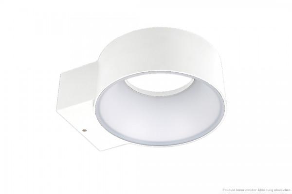 LED Wandleuchte - 8 Watt - schaltbar - 3000 Kelvin - U:150lm D:450lm - weiß