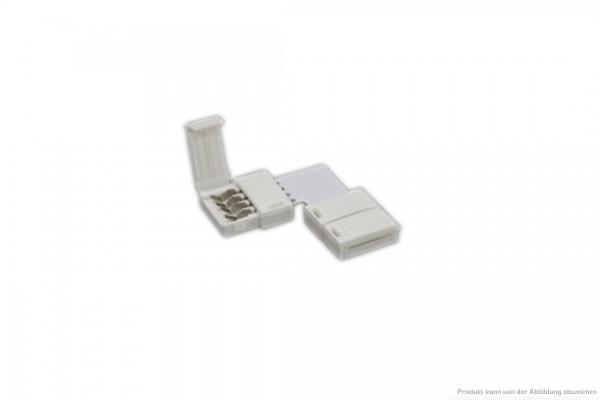Eckverbinder für LED Stripe 24V DC - IP 20 - RGB - 4-polig