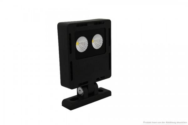 LED Strahler - 25 Watt - 4000 Kelvin - 2500 Lumen - schwarz