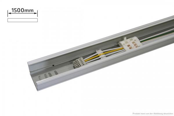 Endtragschiene - 5polig - schaltbar - 1500mm