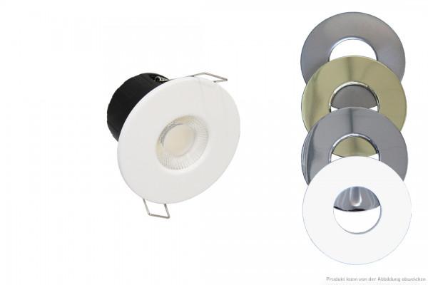 LED Einbaustrahler - 7 Watt - dimmbar - 3000-5700K - 550-620lm - Rahmen: wählbar
