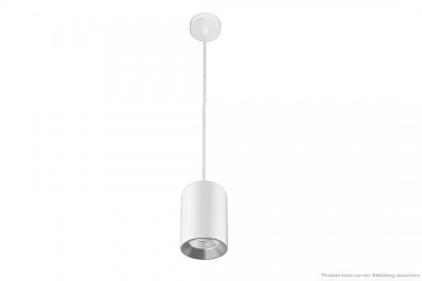 LED Zylinderpendelleuchte - 10W - dim. - 4000 Kelvin - 900lm - weiß