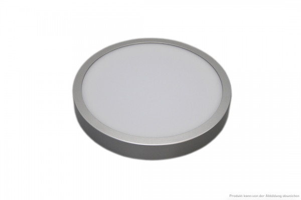 LED Anbauleuchte - 14 Watt - schaltbar - 3000 Kelvin - 1100 Lumen - silber