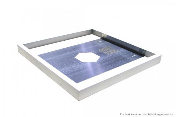Premium Aufbaugehäuse weiß für quadratische LED Panelleuchten