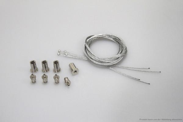 4 Pkt. Seilabhängung (einstellbar)