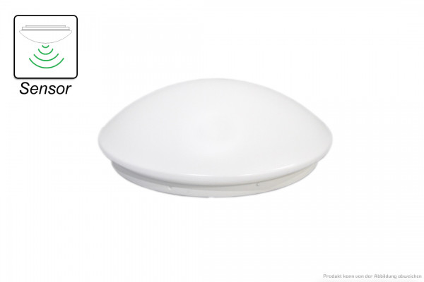 LED Deckenleuchte - 11 Watt - HF Sensor 3000 Kelvin - 850 Lumen - weiß