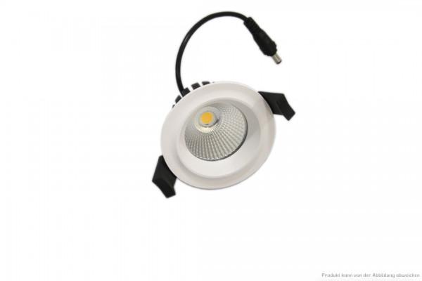 LED Einbaustrahler - 7 Watt - schaltbar 3000 Kelvin - 580 Lumen - weiß