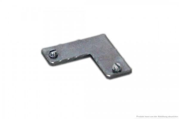 Aufbauprofil-Eckverbinder 90° schraubbar für Aufbauprofilschienen