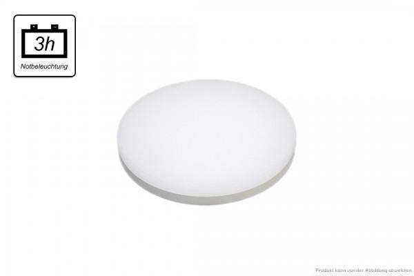 LED Anbauleuchte - 29 Watt - NOTLICHT - 4000 Kelvin - 1950 Lumen - weiß