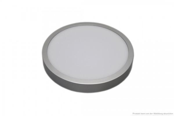LED Anbauleuchte - 14 Watt - schaltbar - 4000 Kelvin - 1150 Lumen - silber